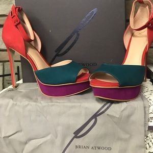 Brian Atwood high heels size 8